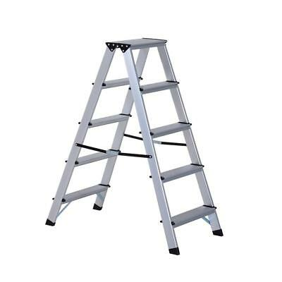 88Cm Multipurpose Aluminum LADDER High Quality A Type Silver Foldable Ladders
