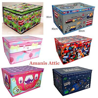 Jumbo Size Kids Toy Storage Chest Large Foldable Storage Accessories Laundry Bag