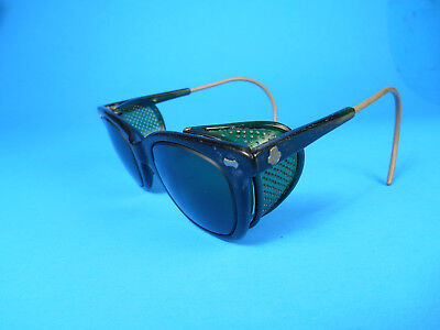 Vintage GREEN CESCO Safety Glasses / Goggles Steampunk