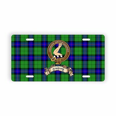 """Clan Armstrong Novelty Auto Plate 6"""" x 12"""""""