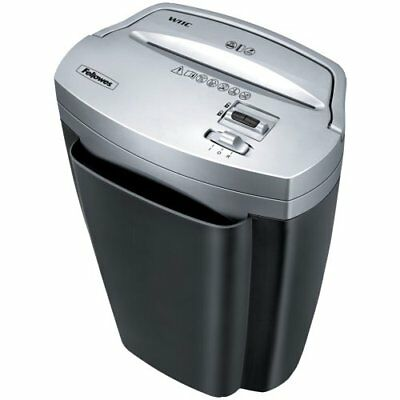 Fellowes Powershred W11C, 11-Sheet Cross-cut Paper and Credit Card Shredder