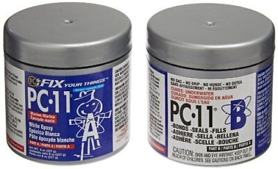 PC Products 80115 PC-11 Two-Part Marine Epoxy Adhesive Paste, 1/2 lb in Two