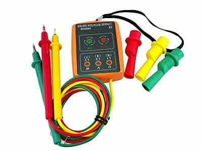 Leaton® 3 Phase Sequence Presence Rotation Tester Indicator Detector Meter