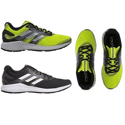 a23d41eedd35 Adidas Men Athletic AeroBounce M Running Shoes Sneakers NEW Core Black White