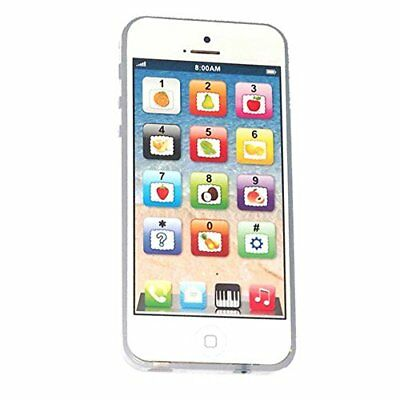 Cooplay White Yphone Y-phone Toy Play Music Cell Phone Mobile Phone Cellphone