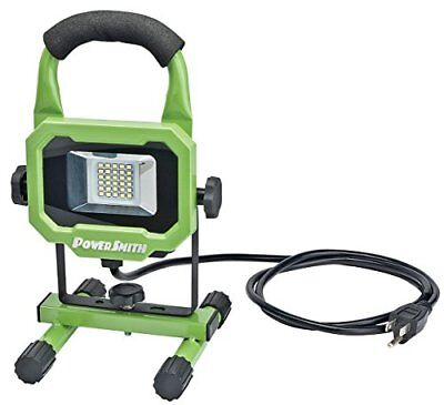PowerSmith PWL1115BS 15W 1400 Lumen LED Work Light Equipped with Metal Stand