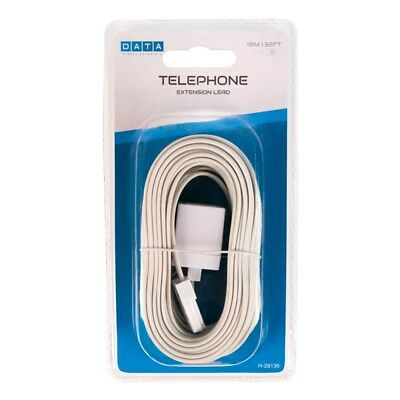 Telephone Extension Lead 10m/32ft