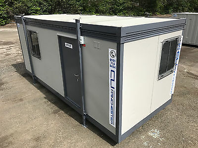 20ft x 8ft - Plastisol Jack Leg Office | 2 x Offices | Grills |Fully Refurbished