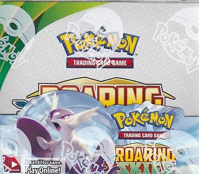 Pokemon English Booster Box XY6 ROARING SKIES *BNIB SEALED* x1