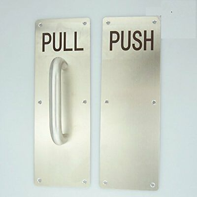 Super More Stainess Steel Door Handle PULL and PUSH Plate with