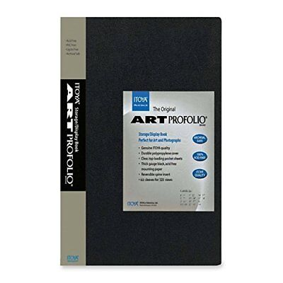 Itoya Art Portfolio 13 x 19 inches Storage Display Book, 24 Sleeves for 48