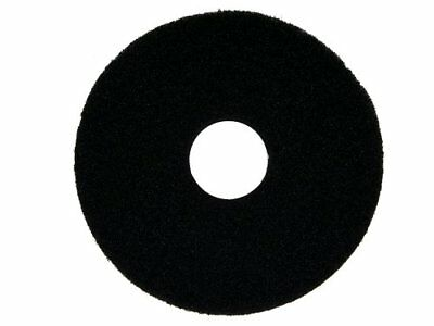 "Oreck Commercial 437071 Strip Orbiter Pad, 12"" Diameter, Black, For ORB550MC"