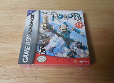 New Factory Sealed Robots Nintendo Game Boy Advance Game In Package