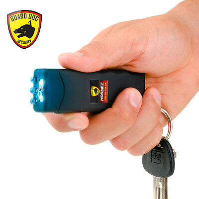 Guard Dog SG-GDH600BK Hornet Keychain Stun Gun W/400 Lumen Tactical Light BLACK