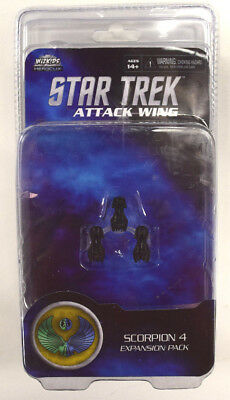 HeroClix Star Trek Attack Wing - Scorpion 4 Expansion Pack
