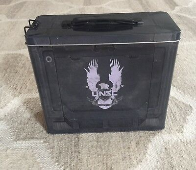 NEW! Exclusive Halo 5 UNSC Ammo Tin Storage Box or  Lunch Box
