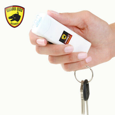 Guard Dog SG-GDH600WT Hornet Keychain Stun Gun W/400 Lumen Tactical Light WHITE