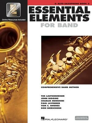 Essential Elements for Band - Book 2 Bk/CD