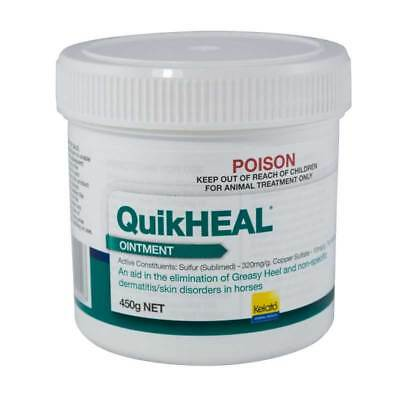 Kelato Quikheal Greasy Heel Ointment 450g Antifungal & Antibacterial Treatment