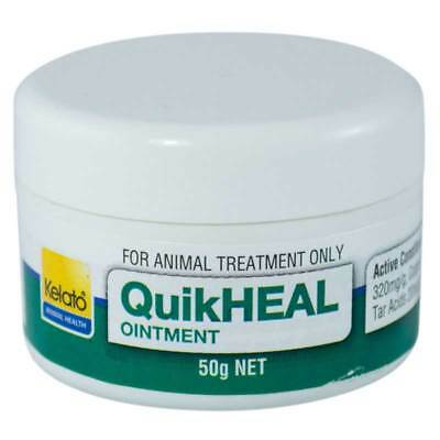 Kelato Quikheal Greasy Heel Ointment 50g Antifungal & Antibacterial Treatment