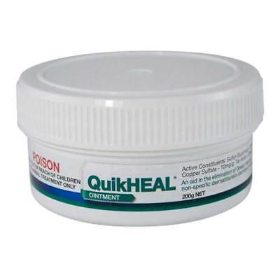 Kelato Quikheal Greasy Heel Ointment 200g Antifungal & Antibacterial Treatment