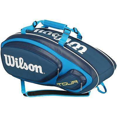 Wilson Tour V Blue 9 Pack Tennis Racquet Bag