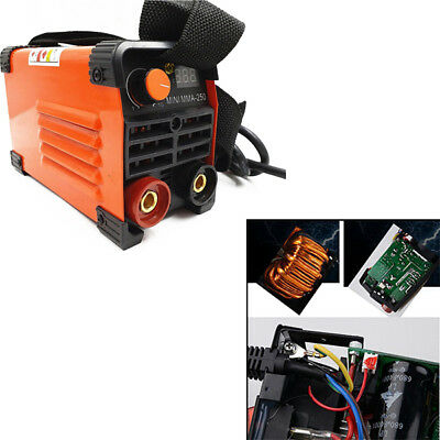 1PC Handheld Mini MMA Electric Welder 220V 20A-250A Inverter ARC Machine Tool