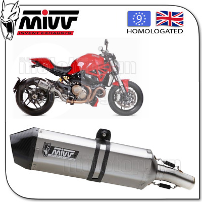Mivv Approved Exhaust Speededge Steel Carbon Cup Ducati Monster 1200 2016 16