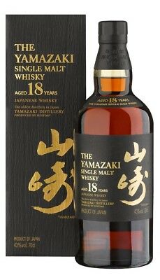 Yamazaki 18yo Japanese Single malt Whisky 700ml