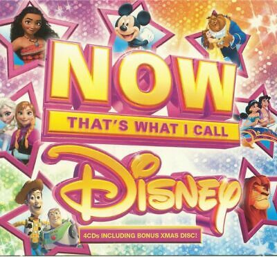 VARIOUS - Now That's What I Call Disney - CD (unmixed 4xCD)