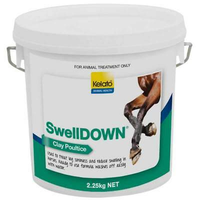 Kelato SwellDown Clay Poultice 2.25kg for Horse Leg Soreness & Reduce Swelling