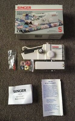 Singer CEX300K Handheld Sewing Machine Handy Stitch Mini Mender Battery Operated