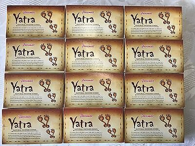 Aussie Stock 12 Packs of Yatra Incense 10 Cones Total 120 Cones 2017 Fresh