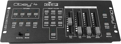 Chauvet Obey 4 DMX Lighting Controller DJ Stage Light Control 16 Channels Obey4