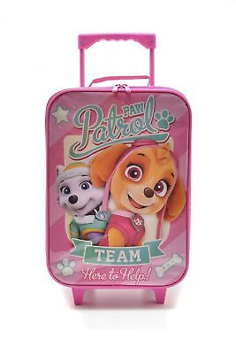 New Paw Patrol Carry On Kids Suitcase Pink Multi