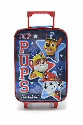 New Paw Patrol Carry On Kids Suitcase Blue Multi