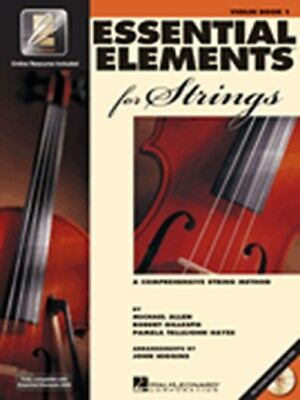 Essential Elements For Strings Book 1 Instructional Method Book