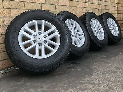 Toyota Hilux SR5 17 Inch Genuine Wheels With Brand New Tyres