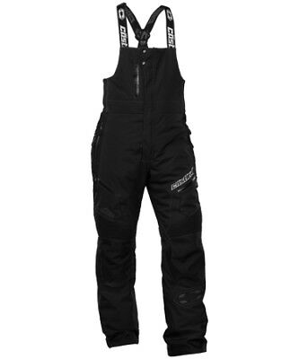 Castle X Back Country Tundra Bib Snowmobile Winter Sports Snow Pant Black