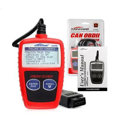 Universal KW806 OBDII Universal Vehicle Diagnostic Scan Tool LCD Screen Pro