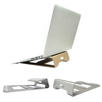 Laptop Holder Aluminum Stand Dock Desk Pad For MacBook Pro Air Notebook Tablet