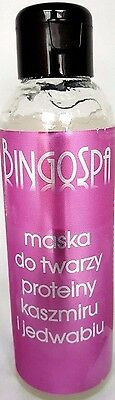 Pl/ BINGOSPA Face Mask with proteins Cashmere and silk/ Smoothing,Velvet Skin