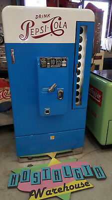 Pepsi Cola Soda Machine VMC Vendo 110 Professional Nut & Bolt Restoration