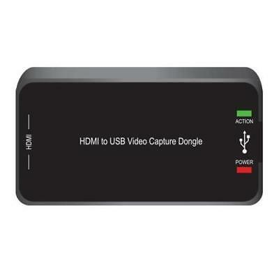 HD External Capture Card Recording System - Record Full HD 1080p Video