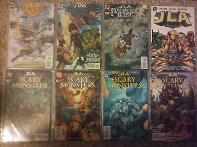 JLA Paradise Lost (1998) 1 2 3 Superpower Scary Monsters 1 2 3 6 Justice League