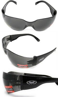 Global Vision anti-fog wraparound Motorcycle sunglasses Biker wraps + Free Pouch
