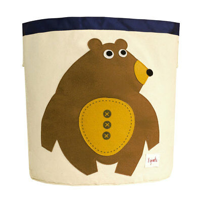 NEW 3 Sprouts Storage Bin - Toffee Bear