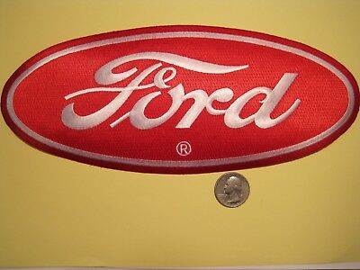 Ford Large Cloth Patch Crest Size Hot Rod Rat Rod F150 F250 F350 Look And Buy!*