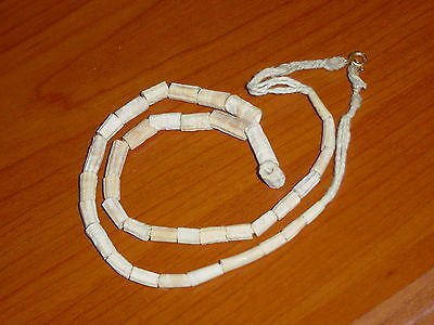 Ancient Shell/Bone Beads Strand Roman 200 BC  #0176