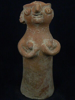 Ancient Large Size Teracotta Hollow Mother Goddess Indus Valley 3000 BC  #TR5812